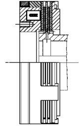 Многодисковая муфта LCW125