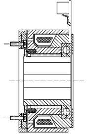 Зубчатая электромагнитные муфта FZV32