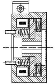 Многодисковый пружинный тормоз LMOBA0.2